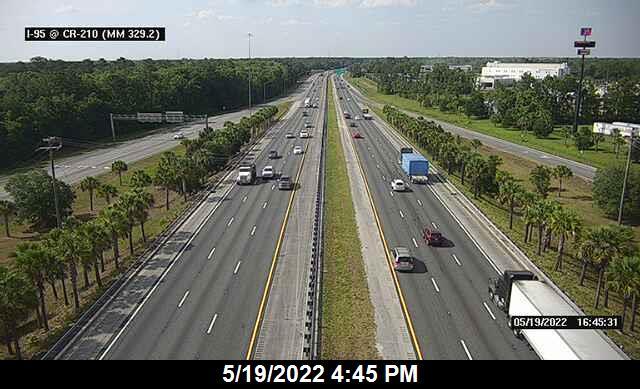 I-95 @ CR-210 - Northbound - 633 - Florida