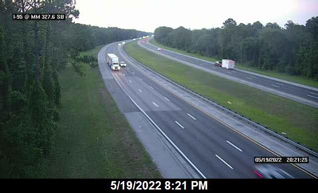 I-95 @ MM 327.6 - Northbound - 637 - Florida