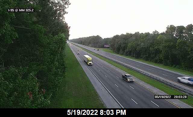 I-95 @ MM 325.2 - Northbound - 641 - Florida