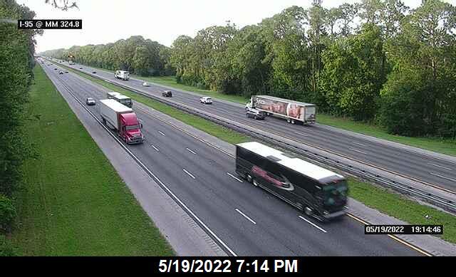 I-95 @ MM 324.8 - Northbound - 642 - Florida