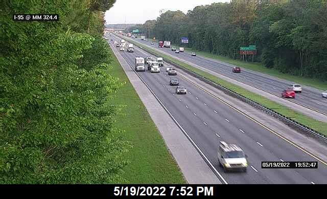 I-95 @ MM 324.4 - Northbound - 643 - Florida