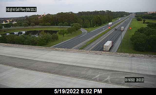I-95 @ International Golf Pkwy - Northbound - 644 - Florida
