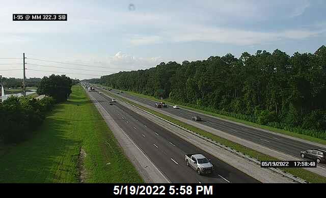 I-95 @ MM 322.3 - Northbound - 645 - Florida