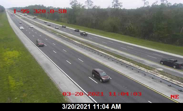 I-95 @ MM 320.8 - Northbound - 647 - Florida