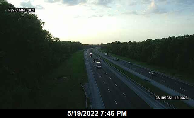 I-95 @ MM 320.3 - Northbound - 648 - Florida