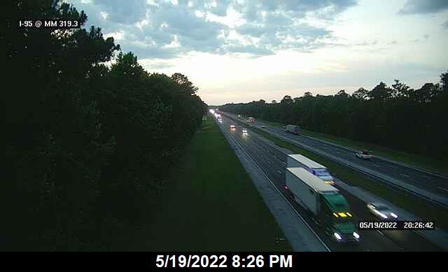 I-95 @ MM 319.3 - Northbound - 649 - Florida