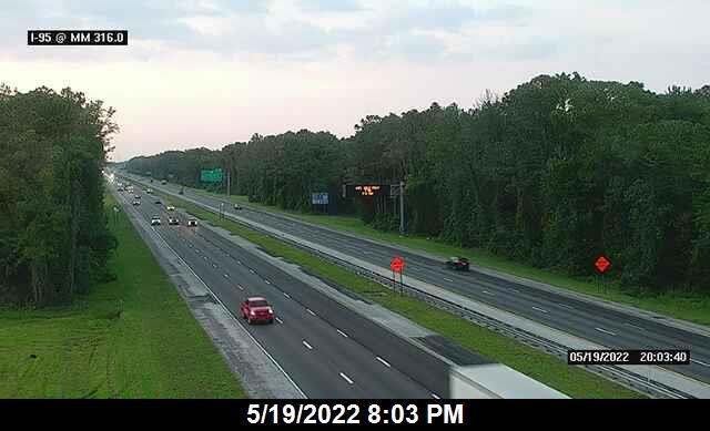 I-95 @ MM 316.0 - Northbound - 653 - Florida