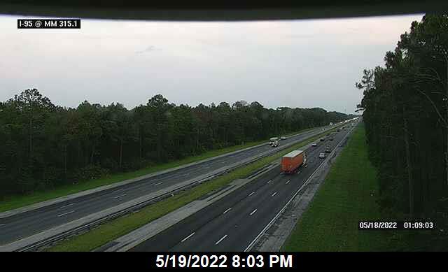 I-95 @ MM 315.1 - Northbound - 654 - Florida