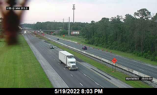 I-95 @ MM 313.3 - Northbound - 656 - Florida