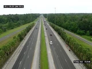 I-95 @ SR-207 - Northbound - 659 - Florida