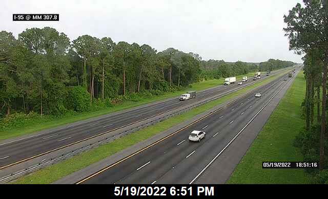 I-95 @ MM 307.8 - Northbound - 663 - Florida