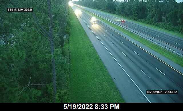 I-95 @ MM 306.9 - Northbound - 664 - Florida