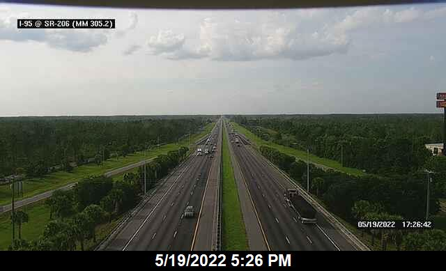 I-95 @ SR-206 - Northbound - 667 - Florida
