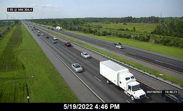 I-95 @ MM 304.4 - Northbound - 668 - Florida