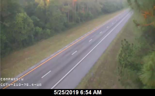 I-10 MM  75.4 WB - Westbound - 235 - Florida