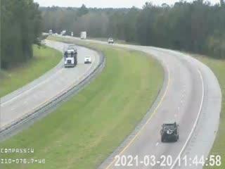 I-10 MM  76.7 WB - Westbound - 236 - Florida