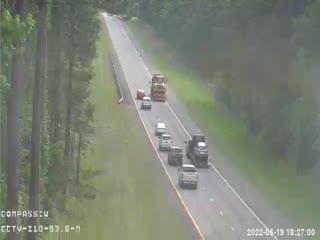I-10 MM  93.6 WB - Westbound - 249 - Florida