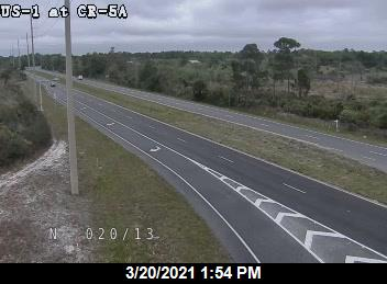 US-1 at SR-5A - Eastbound - 601 - Florida