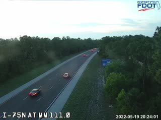 1110N_75_N/O_PineRidge_M111 - Northbound - 580 - Florida