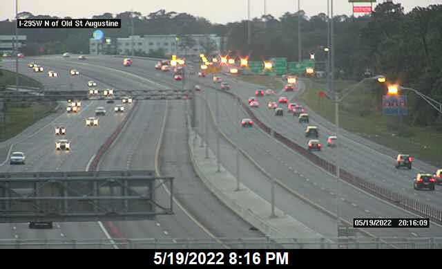 I-295 W N of Old St Augustine Rd - Southbound - 349 - Florida