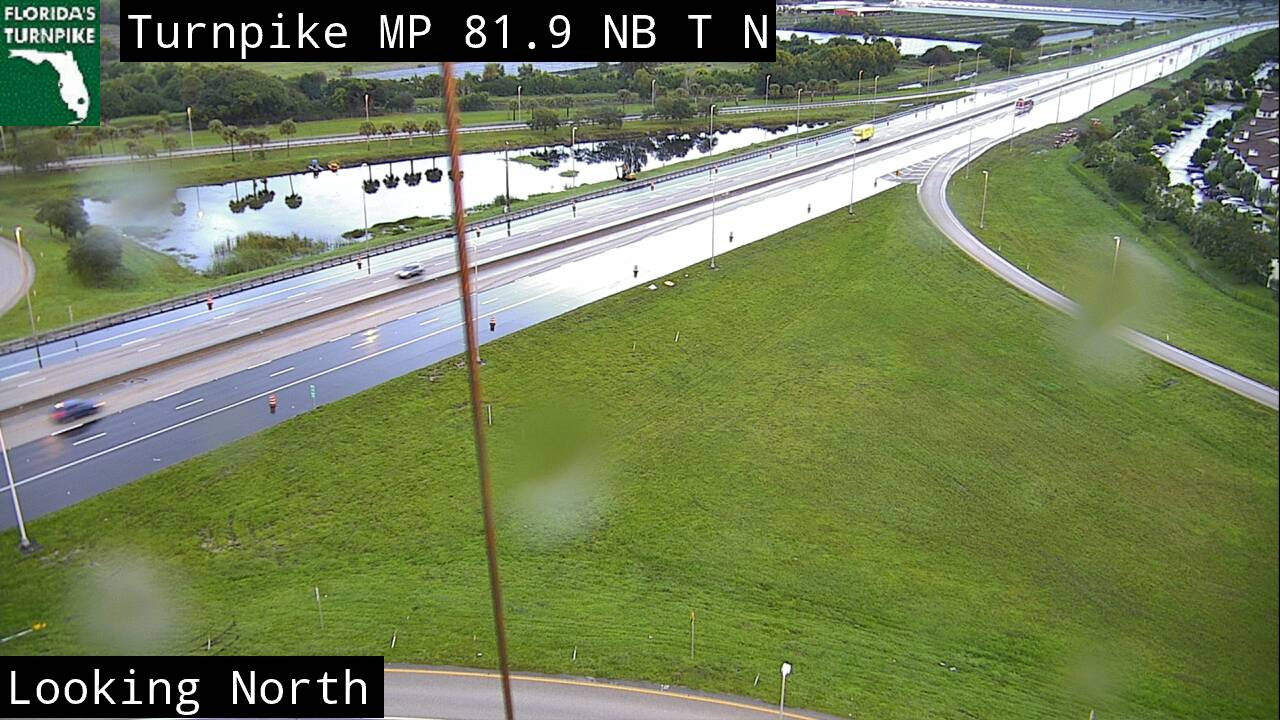 Tpke MM 081 - Southbound - 3278 - Florida