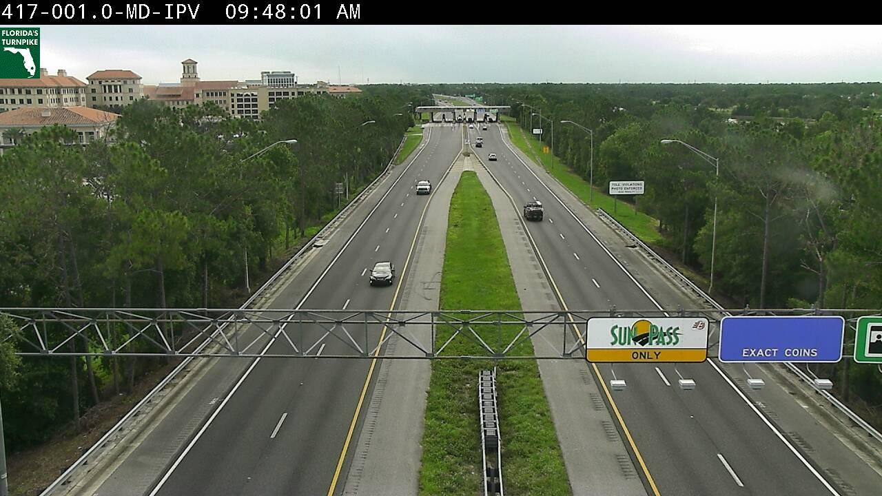 SR-417 MM 01 at I-4 - Southbound - 2998 - Florida