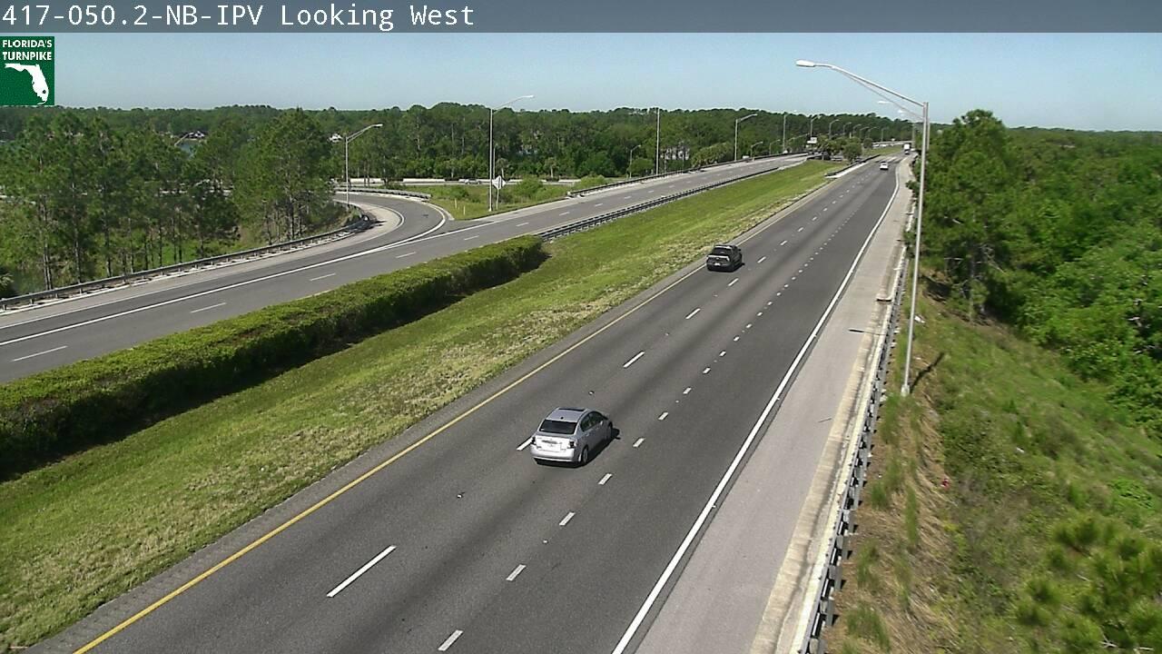 SR-417 MM 50 at US 17-92 - Northbound - 3025 - Florida