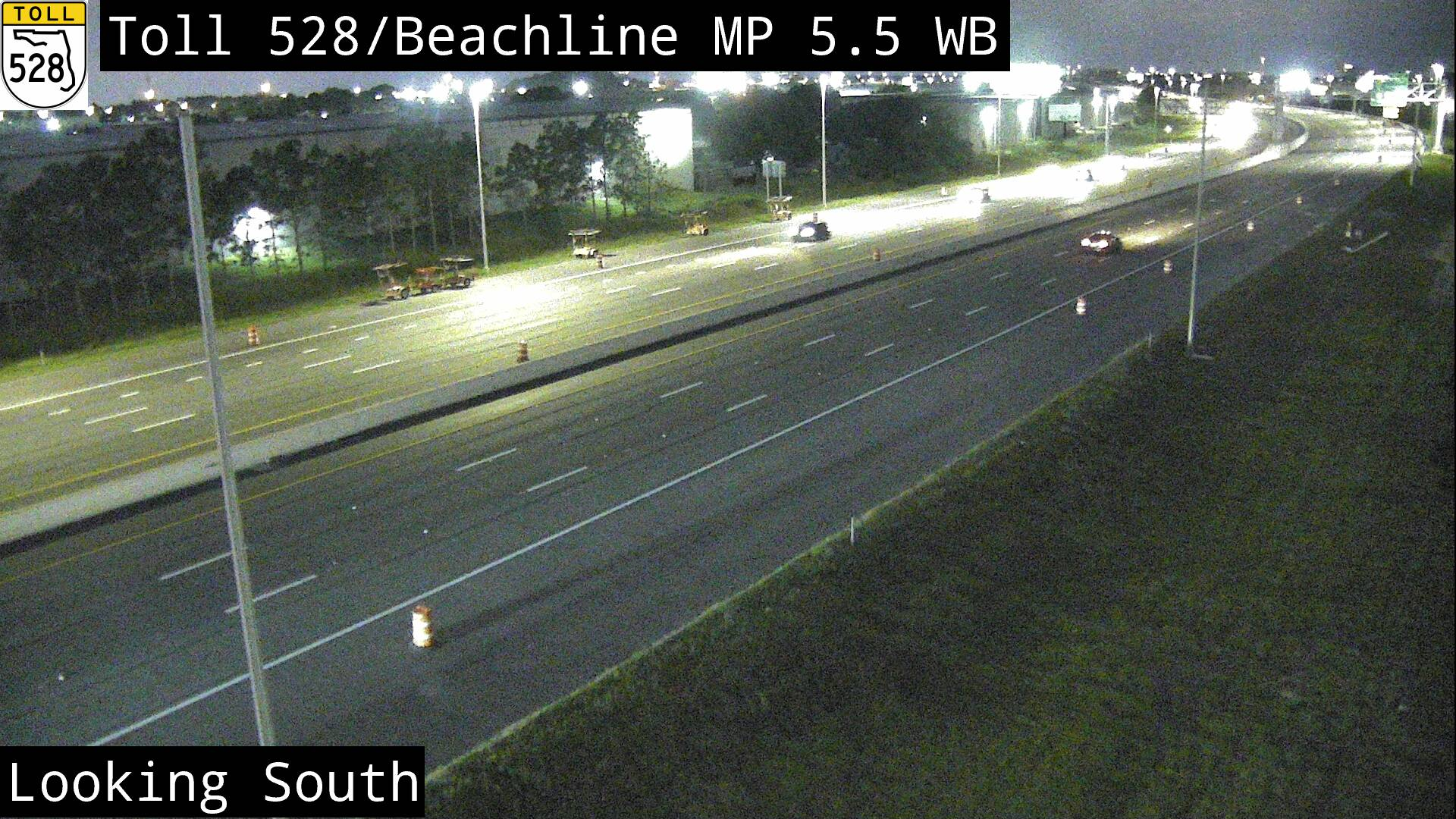 SR 528 W at MM 5.6 - Westbound - 3055 - Florida
