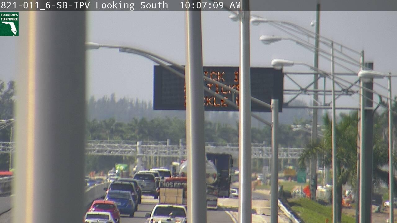 Tpke MM 012 - Southbound - 3180 - Florida