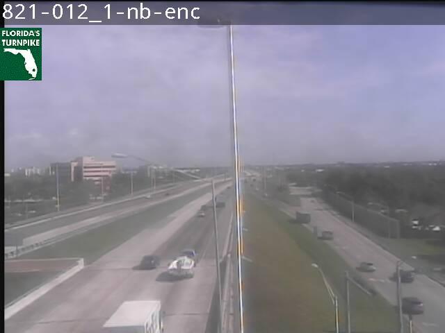 Tpke MM 012 at Caribbean Blvd - Northbound - 3181 - Florida