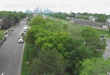 SB @ 35th Street - I-35W - in Minneapolis - USA