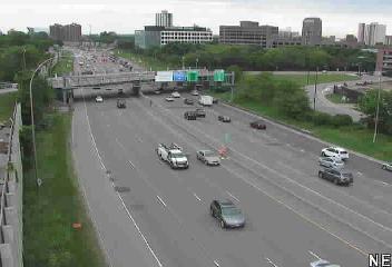 SB @ Lake Street - I-35W - in Minneapolis - USA