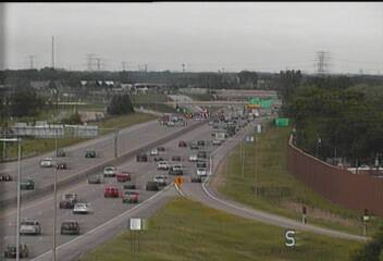 SB @ Co Rd I - I-35W - in Mounds View - USA