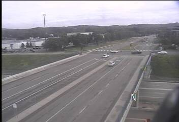 EB @ NB Mitchell Rd - US 212 - in Eden Prairie - Minnesota