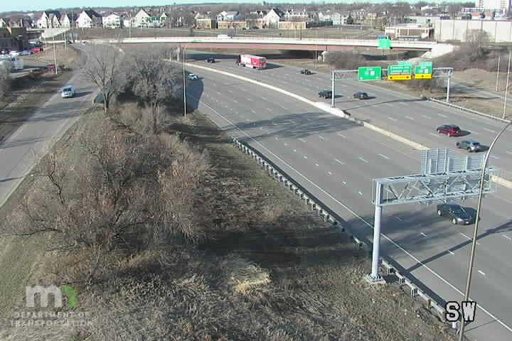 I-94 WB @ Plymouth Ave - I-94 WB @ Plymouth Ave - near Minneapolis - Minnesota