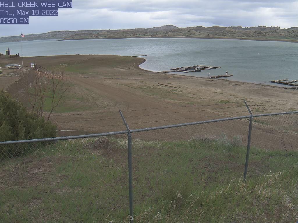 Fort Peck Lake, Hell Creek - Montana