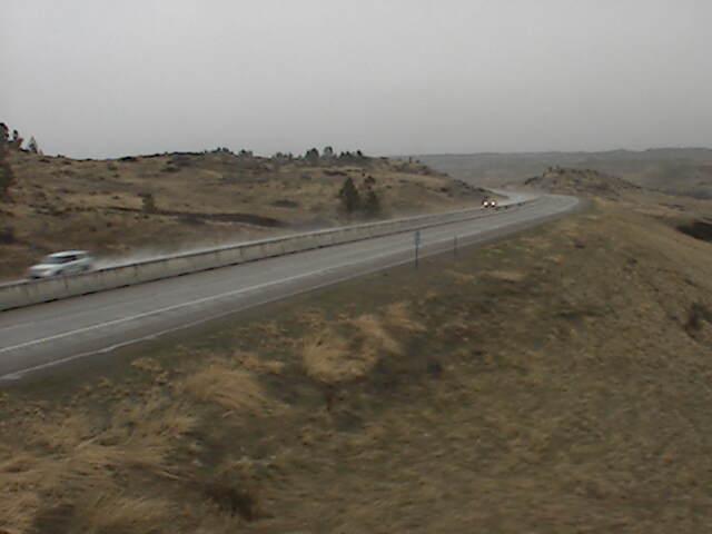 Hysham Hills I-94 MP 60.0 - Northeast Elev 3549 - Montana
