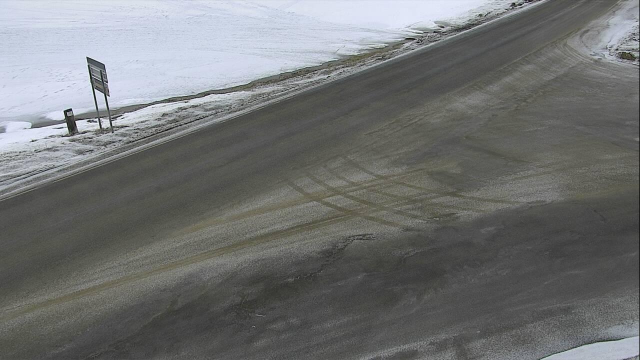 Georgetown Lake - Roadway Elev 6339 - Montana