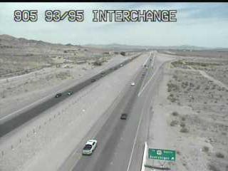 US 93 NB Dam Bridge Interchange - TL-100905 - Nevada and Vegas
