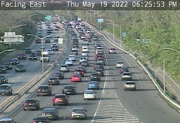 I-190 (Niagara Expy) at US Toll Plaza (6553) - New York City