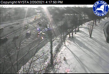 I-87 at Interchange 14 (Spring Valley) (1ml02255n) - New York City