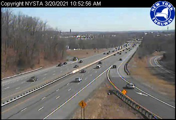 I-87 at Interchange 14A (Garden State Parkway) (1ml02350s) - New York City