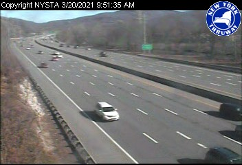 I-87 just south of Interchange 15A (Sloatsburg/Suffern) (1ml03090s) - USA