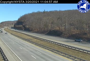 I-87 Between Interchange 15A (Sloatsburg/Suffern) and 16 (Harriman) (1ml03630s) - New York City