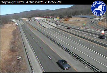 I-87 at Woodbury Toll Barrier (1ml04470s) - New York City