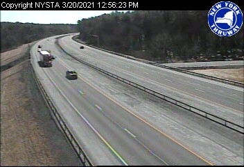 I-90 at Interchange 26 (Schenectady/I-890/Route 5S) (2ml16220w) - USA