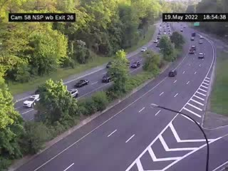 I-90 East of Interchange 50A (Cleveland Drive) (4ml42050w) - New York City