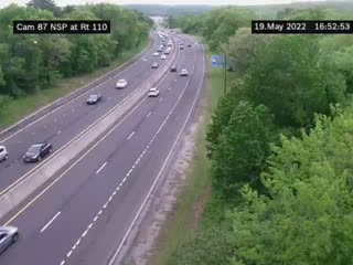 I-90 at Interchange 53 (I-190 Junction) View 1 (4ml42617a) - New York City
