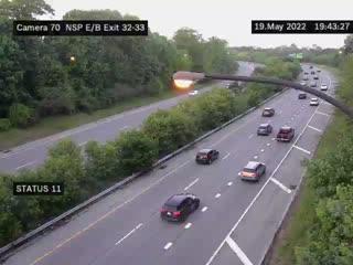 I-90 Between Interchange 55 (Lackawanna) and 56 (Blasdell) (4ml43120w) - New York City