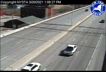 I-190 at Interchange 5 (Hamburg Street) (4ni00380s) - New York City